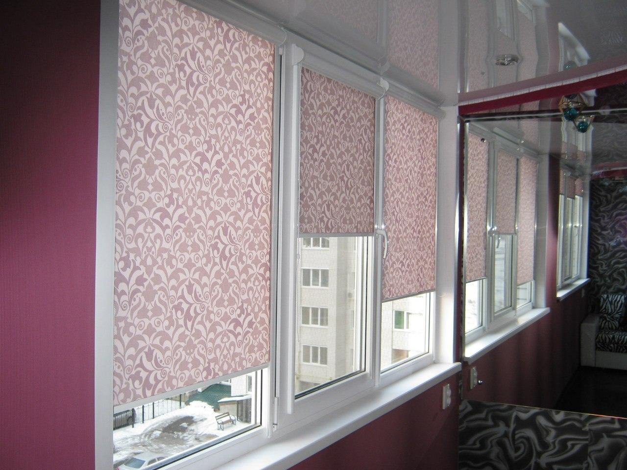 Рулонные шторы на пластиковые окна - купите в интернет